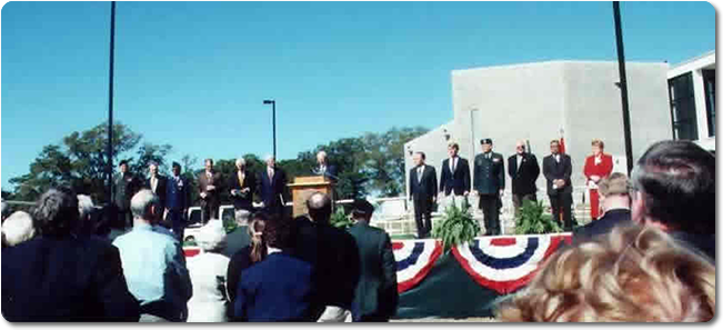 The Armed Forces Museum Opens at Camp Shelby, Mississippi, Oct. 27, 2001